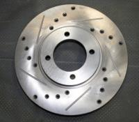 Brake Discs (2.8 Vented) Drilled & Grooved