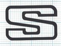 S Side Badge: Small