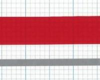 2.8 Injection Striping Kit: Red over Silver