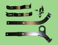 Steel RS Front Quarter Bumpers CHROME