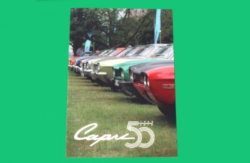 Capri 50 @ Ford Warley 19th July 2019 Commemorative Book