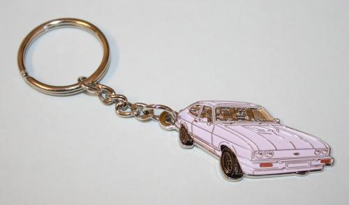 Key Ring (White)