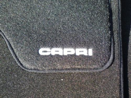 Car Mat Set: Capri (Black)