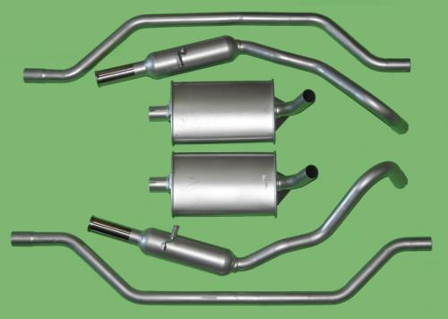 Standard Exhaust System: 2.8