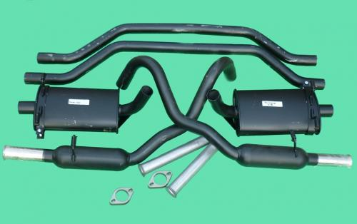 "Club Performance Exhaust System 2"" SS Exit: 3.0"