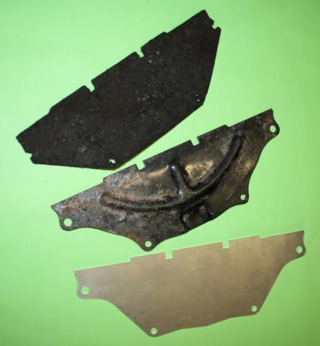 Essex Gearbox Dirt Shield (Alloy)
